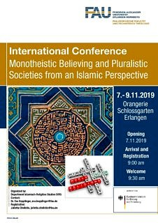 "Towards entry ""Impressions of the International Conference ""Monotheistic Believing and Pluralistic Societies from an Islamic Perspective"" from November 7th – 9th, 2019"""